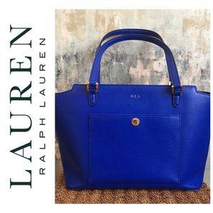 Lauren Ralph Lauren Newbury Modern Pocket Shopper